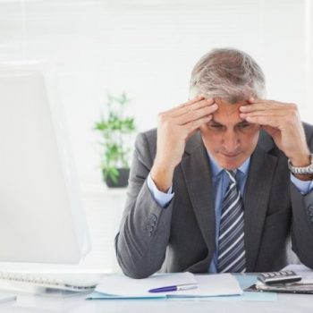 Executive struggling with finances